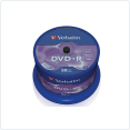 DVD+R Verbatim 16x, 4.7Gb,16x  50 Cake box(43550)