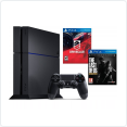 Игровая приставка Sony PlayStation 4 1Tb + Driveclub/The Last of us (CUH-1208B)