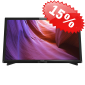 "Телевизор LED 22"" Philips (22PFT4000/60) черный/FULL HD/100Hz/DVB-T/DVB-T2/DVB-C/USB (RUS)"