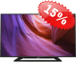"Телевизор LED 32"" Philips (32PFT4100/60) черный/FULL HD/100Hz/DVB-T/DVB-T2/DVB-C/USB (RUS)"
