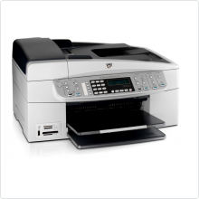 МФУ струйное HP (OfficeJet 6313 Q8061C) цветное, A4, 64Mb, принтер/копир/сканер/факс, 30 стр/мин(ч/б), 24 стр/мин(цветн), USB, Ethernet