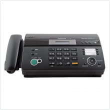 Факс Panasonic (KX-FT988RUB) термоперенос, А4, копир, АОН, Caller ID, спикерфон, автоответчик