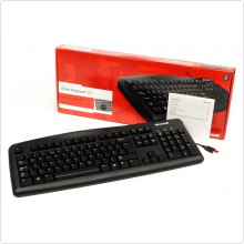Клавиатура Microsoft (Wired Keyboard 200 MP) USB, black, OEM (JWD-00002)
