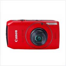 Фотокамера Canon (IXUS 300 HS) Red 10Mpx, 28-105mm, 3,8x, 3648x2730, 8,4 кадр/с. Видео: 1280x720, 30 кадр/с