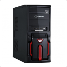 Корпус VELTON (2239) ATX 400W black/red