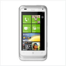 "Коммуникатор HTC (Radar C110e) White 3.8"", 1Ghz, 512Mb, 480x800, GSM+GPRS+EDGE+GPS, WiFi, BT, win Phone OS, Li-Ion, 1520мАч"