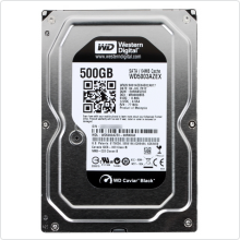 Жесткий диск 500Gb Western Digital (WD5003AZEX) 64Mb 7200rpm SATAIII