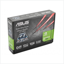Видеокарта 1024Mb Asus GeForce GT 610 (GT610-1GD3-L) 64bit DDR3 DVI HDMI RTL
