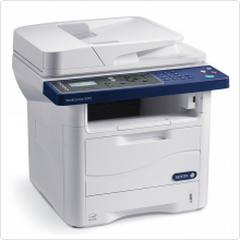МФУ лазерное XEROX (WorkCentre 3315V/DN) черно-белое, A4, 128Mb, принтер/копир/сканер/факс, 31 стр/мин, USB, Ethernet, двусторонняя печать
