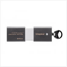 Флеш-накопитель 64Gb Kingston (DTU30G3/64GB) USB 3.0, grey