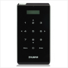 "Внешний корпус для HDD Zalman (ZM-VE400) 2.5"" USB3.0 SATA black + эмулятор CD, DVD, Blu-ray"