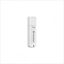 Флеш-накопитель 16Gb Transcend (TS16GJF370) USB 2.0, white