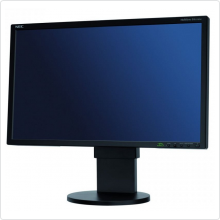 "Монитор 23"" NEC (EA232WMi) LED, 1920x1080, 14ms, 1000:1, DVI, VGA, DP, USB Hub, колонки 2 x 1W, white"
