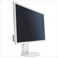 "Монитор 27"" NEC (EA273WM) LED, 1920x1080, 5ms, 1000:1, VGA, DVI, HDMI, DP, USB Hub, колонки 2 x 1W, white"