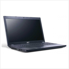"Ноутбук 15.6"" Acer (TravelMate 5760-32353G32Mnsk) Core i3 2350M (2.3Ghz), 3Gb, 320Gb, 4400мАч, win7Pro, black (NX.V54ER.014)"
