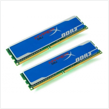 память 2048Mbx2 DDR3 PC3-10600 1333MHz Kingston (KHX1333C9D3B1K2/4G)