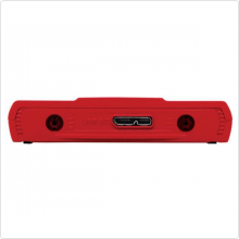 "Внешний жесткий диск 500Gb Verbatim (GT SuperSpeed) 2.5"" USB3.0 5400rpm red/white (53084)"