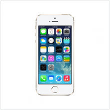 Смартфон Apple iPhone 5S 64Gb Gold, USB, Wi-Fi, BT, 1136x640, Видео:1920x1080, 30кадр/с