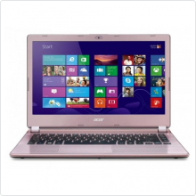 Ноутбук 14'' Acer (Aspire V5-472G-53334G50app) Core i5 3337U (1.8Ghz), 4Gb, 500Gb, 2500мАч, GT 740M (2Gb), win8, pink/black (NX.MB1ER.002)