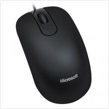 Мышь проводная Microsoft (Optical Mouse 200) 1000 dpi, USB, black (JUD-00002)