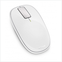 Мышь беспроводная Microsoft (Explorer Touch Mouse) 1000 dpi, USB, white (U5K-00039)