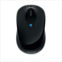 Мышь беспроводная Microsoft (Sculpt Mobile Mouse) 1600 dpi, BT, black (43U-00004)