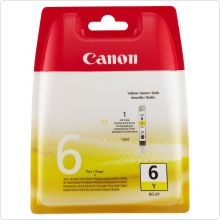 Картридж Canon BCI-6Y BJS-800/ iP6000D/ MP750 Yellow (o)