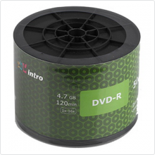 Диск DVD-R Intro 4.7Gb 16х 50шт Shrink