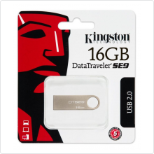 Флеш-накопитель 16Gb Kingston (DTSE9H/16GB) USB 2.0, champagne