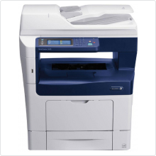 МФУ лазерное XEROX (WorkCentre 3615DN) черно-белое, A4, 1Gb, принтер/копир/сканер/факс, 45 стр/мин, USB, Ethernet