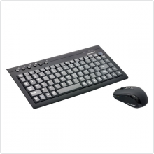 Клавиатура+мышь Gear Head (KB3750WR) беспроводной, 800dpi, USB, black