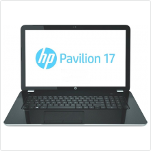 "Ноутбук 17.3"" HP (Pavilion 17-e158sr) Core i3 3110M (2.4Ghz), 4Gb, 500Gb, 4200мАч, HD 8670M (1Gb), win8.1, black (F8S61EA)"