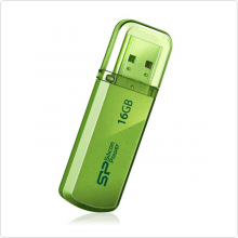 Флеш-накопитель 16Gb Silicon Power (Helios 101) USB 2.0, green