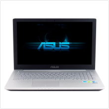 "Ноутбук 15.6"" Asus (N550JK) Core i7 4700HQ (2.4Ghz), 12Gb, 1Tb, 4000мАч, GTX 850M (4Gb), win8, black/silver (90NB04L1-M00140)"