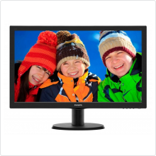 "Монитор 24"" Philips (243V5LHAB/00(01)) LED, 1920x1080, 5ms, 1000:1, VGA, HDMI, DVI, колонки 2 х 2W"
