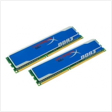 Память 4096Mbx2 DDR3 PC3-12800 1600MHz Kingston (KHX1600C9D3B1K2/8GX)