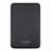 "Внешний корпус для HDD Zalman (ZM-WE450) 2.5"" USB3.0 SATA Wi-Fi black + эмулятор CD, DVD, Blu-ray"