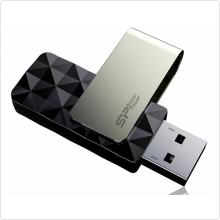 Флеш-накопитель 32Gb Silicon Power (Blaze B30) USB3.0, black