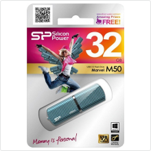 Флеш-накопитель 32Gb Silicon Power (Marvel M50) USB3.0, blue