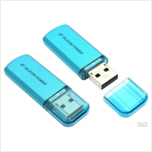 Флеш-накопитель 8Gb Silicon Power (Helios 101) USB 2.0, blue