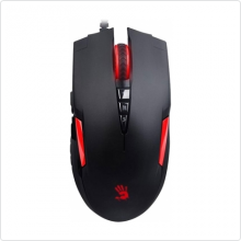 Мышь проводная A4Tech (Bloody V2m) 3200 dpi, USB, black/red