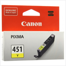 Картридж Canon (CLI-451Y) для PIXMA MG6340/MG5440/IP7240 оригинальный