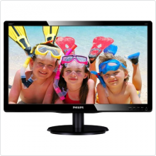 "Монитор 19.5"" Philips (200V4LAB) LED, 1600x900, 5ms, 10M:1, VGA, DVI"