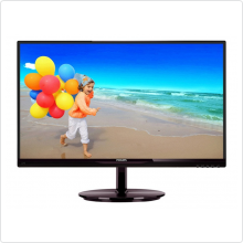"Монитор 21.5"" Philips (224E5QHSB) LED, 1920x1080, 5ms, 10M:1, VGA, HDMI, MHL"