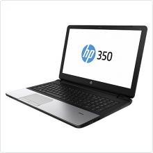 "Ноутбук 15.6"" HP (350 G2) Core i3 4030U (1.9Ghz), 4Gb, 750Gb, 3700мАч, win7Pro, silver (K9H75EA)"