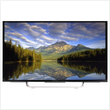 "Телевизор LED 32"" Sony (KDL-32W705C BRAVIA) черный/серебристый/FULL HD/200Hz/DVB-T/DVB-T2/DVB-C/DVB-S/DVB-S2/USB/WiFi/Smart TV"
