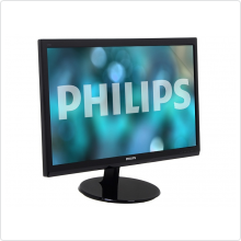 "Монитор 24"" Philips (246V5LHAB/00(01)) LED, 1920x1080, 5ms, 1000:1, VGA, HDMI, колонки 2 х 2W"