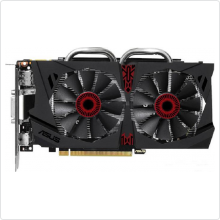 Видеокарта 2048Mb Asus GeForce GTX 950 (STRIX-GTX950-DC2OC-2GD5-G) 128bit DDR5 DVI HDMI DP RTL