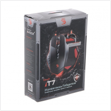 Мышь проводная A4Tech (Bloody T7) 4000 dpi, USB, black