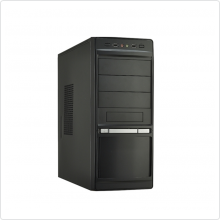 Корпус LinkWorld (316-24) ATX black